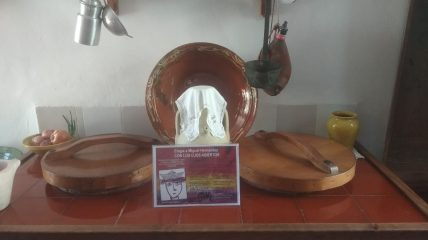 Placa con el poema en la Casa Museo Miguel Hernández de Orihuela
