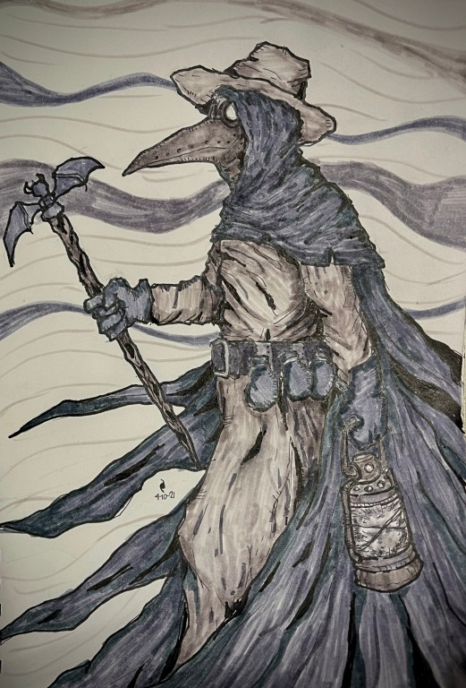 Nothing is more foul than the devil - The Irregulars - Plague Doctor