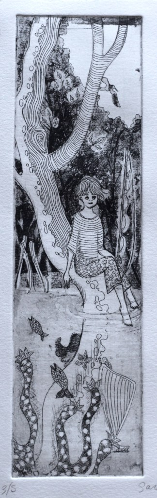 story through images Forest Girl