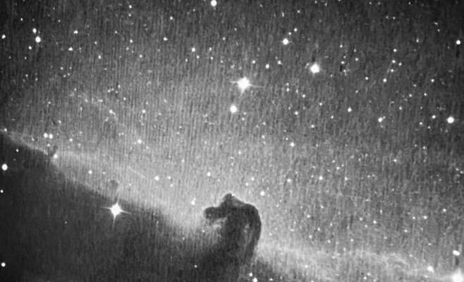horsehead nebula from dusk observatory