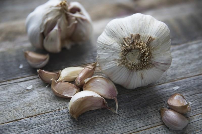 health food raw garlic photo by Kjokkenutstyr Net
