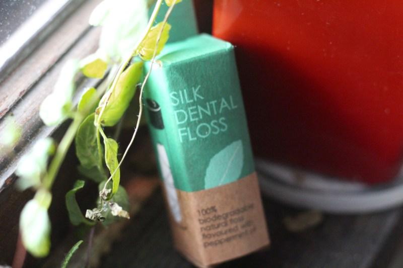 FLON silk dental floss