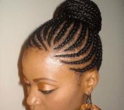 cornrow braids hairstyles updo