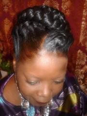goddess braids styles
