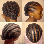 cute braid styles girls simple