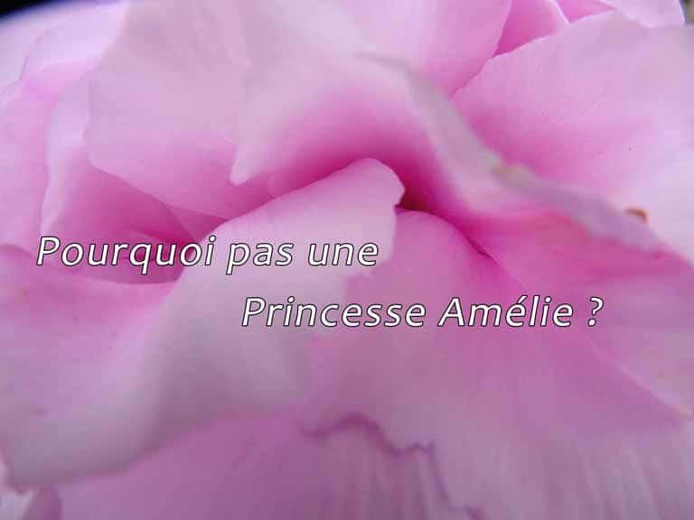 Pourquoi pas une Princesse Amélie ?