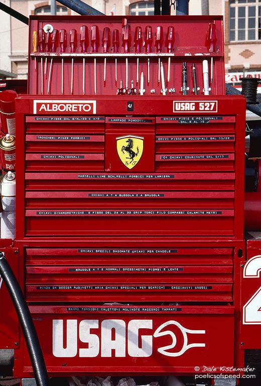 Ferrari Toolbox  poeticsofspeed