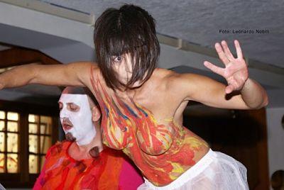 Alessandro D'Agostini ed Inanna Trillis a Contemporanea12 - il Festival della Contemporaneità di Amatrice, 4/08/2012
