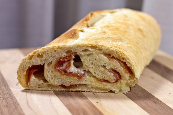 Pepperoni Bread - poet in the pantry
