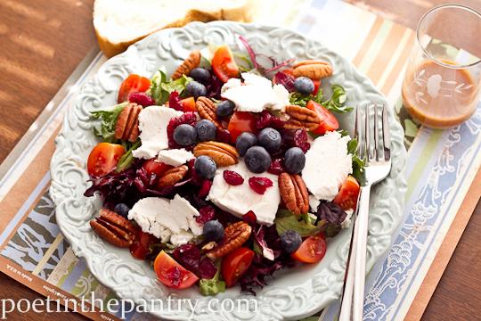 Sunshine-y Spring Salad