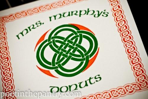 Mrs. Murphy's Donuts box