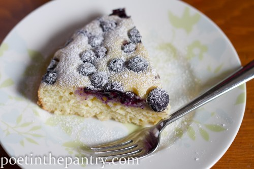 blueberry ricotta cake