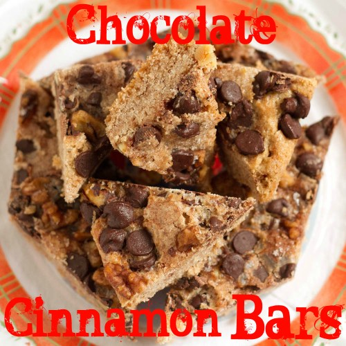 chocolate cinnamon bars