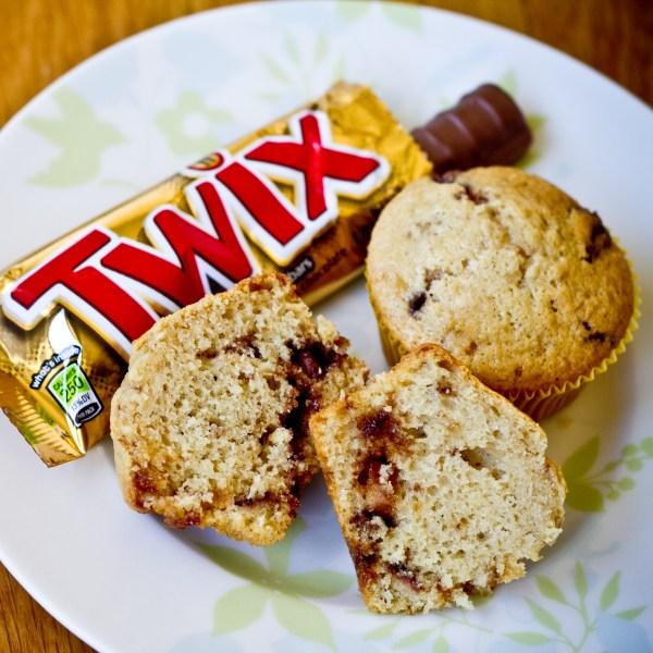 Twix Muffins
