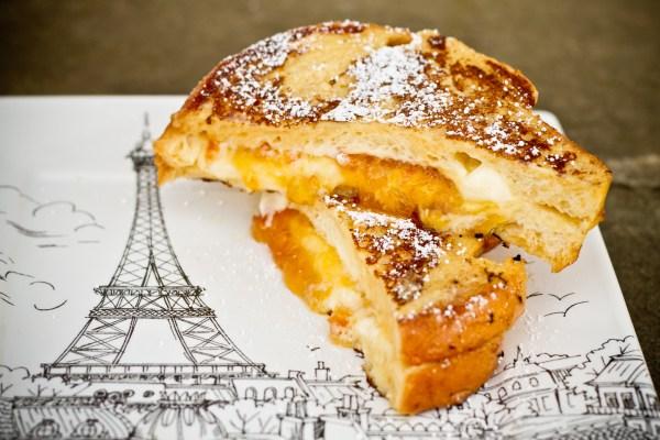 Mascarpone and Marmalade-Stuffed French Toast