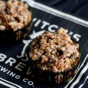 Gluten-Free Pumpkin Streusel Muffins