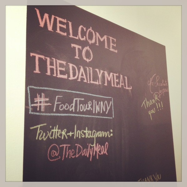 The Daily Meal welcome