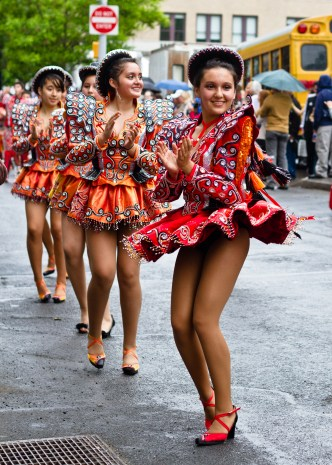 NYC dance parade