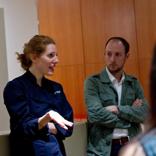 Dawn Perry and Matt Gross of Bon Appétit