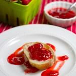 strawberry white wine vinegar jam