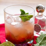 Strawberry Mint Tequila Smash