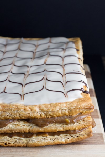 mille feuille - Napoleons - poet in the pantry