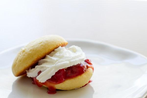 Strawberry Shortcake Whoopie Pies - poet in the pantry