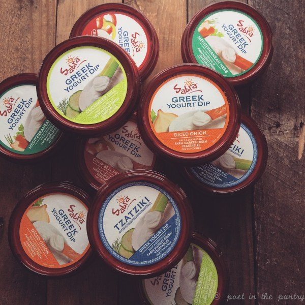 Sabra's Greek Yogurt Dips are a healthier alternative for your parties! All the great taste without the guilt!