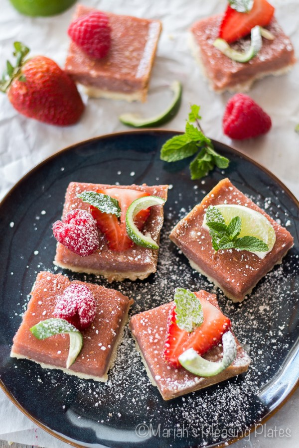 Berry Limeade Bars from Mariah's Pleasing Plates
