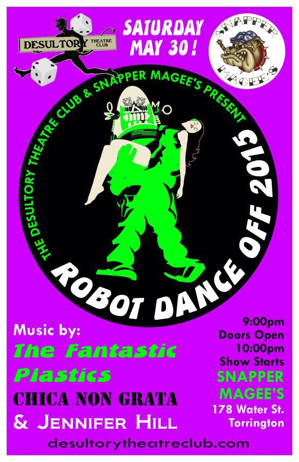 The Desultory Theatre Club presents Robot Dance Off 2015