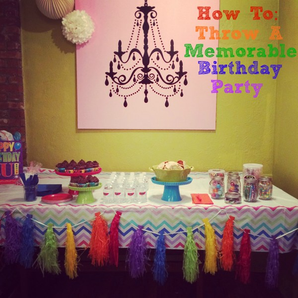 """Birthday parties don't have to be crazy, over-the-top occasions. With some smart choices, you can get a lot of mileage out of very little """"stuff"""""""