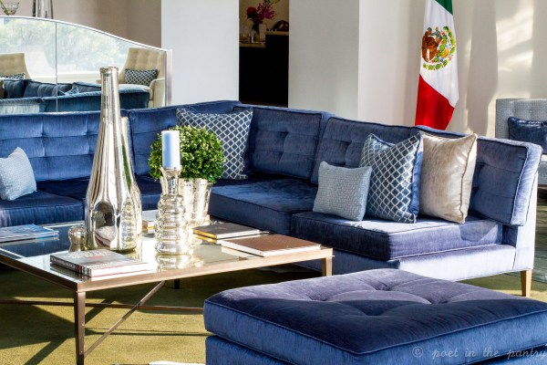 The lobby at The St. Regis Mexico City is a classy place to hang out