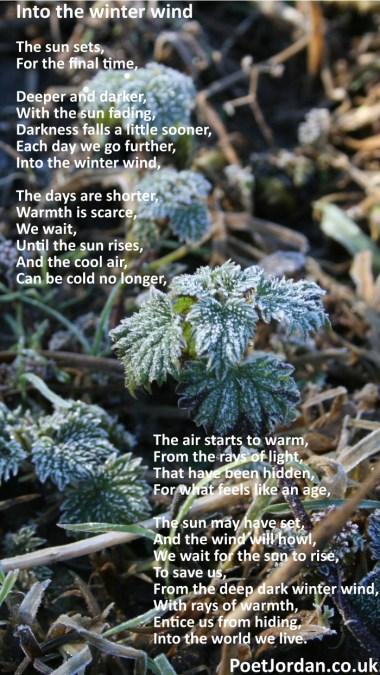 11 Into the winter wind Poet Jordan Volume 31