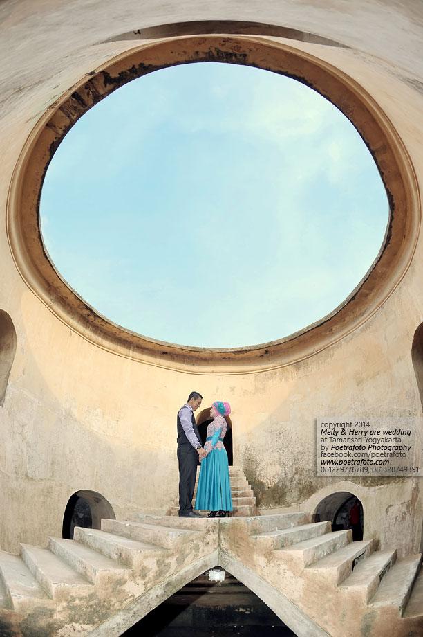 7 Foto Pre Wedding di Taman Sari Yogyakarta Pre Wedding