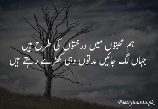 muhabat poetry urdu