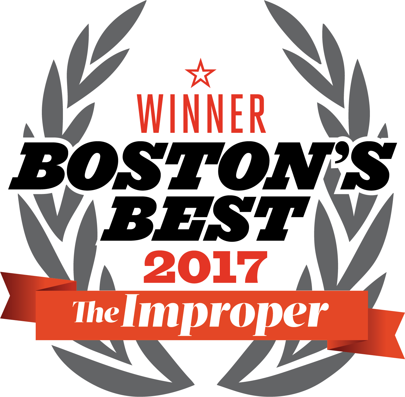 Boston's Best Seal Winner 2017