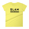 Slam T-Shirt Women Yellow