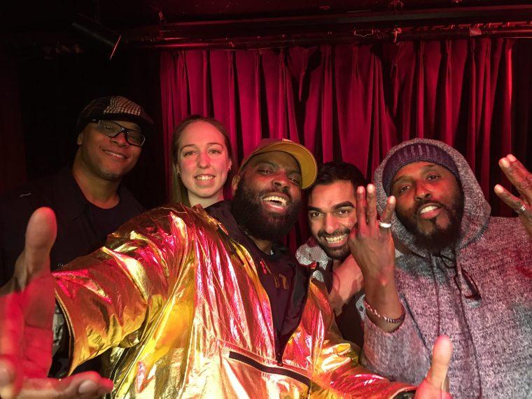 2018 Lizard Lounge Poetry Slam Team