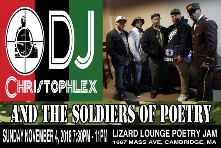 DJ Christophlex and The Soldiers of Poetry