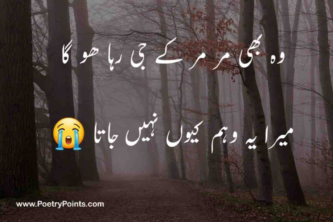 sad poetry in urdu 2021