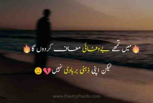 Bewafa Poetry – Bewafa Shayari Urdu and SMS