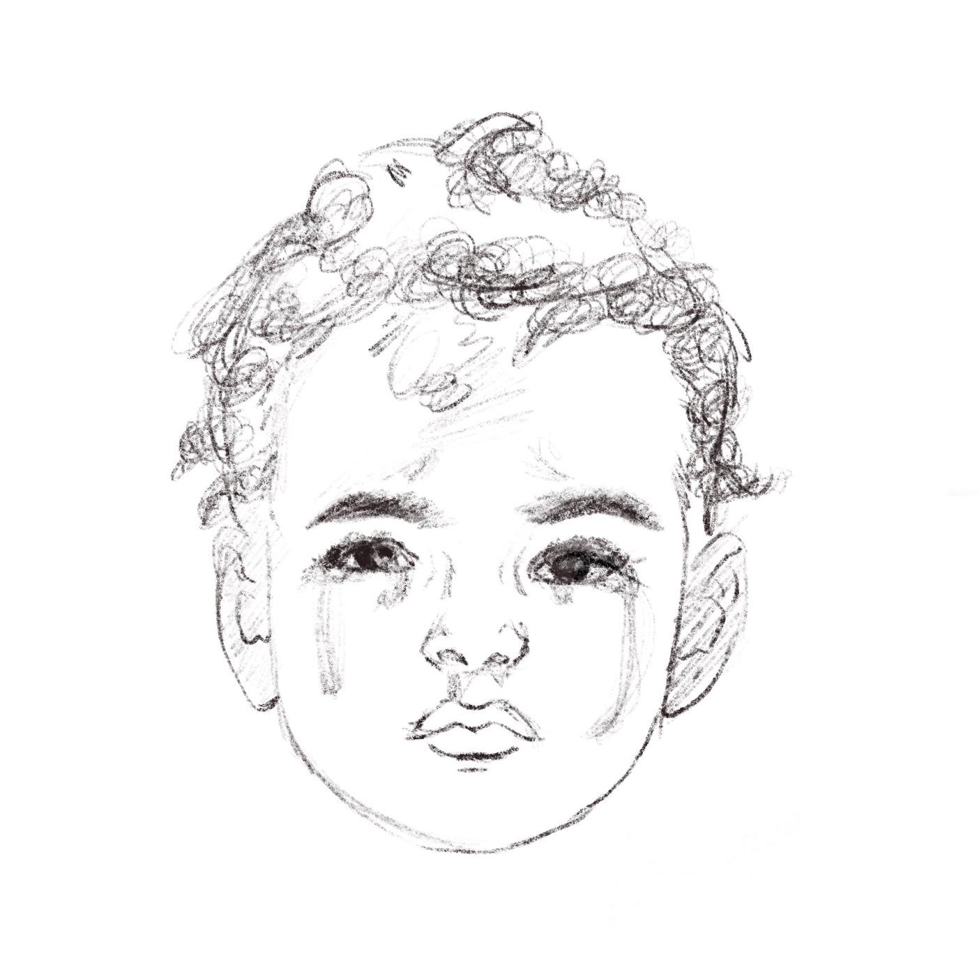 Little Boy Crying Study Bundle Poetry Prof