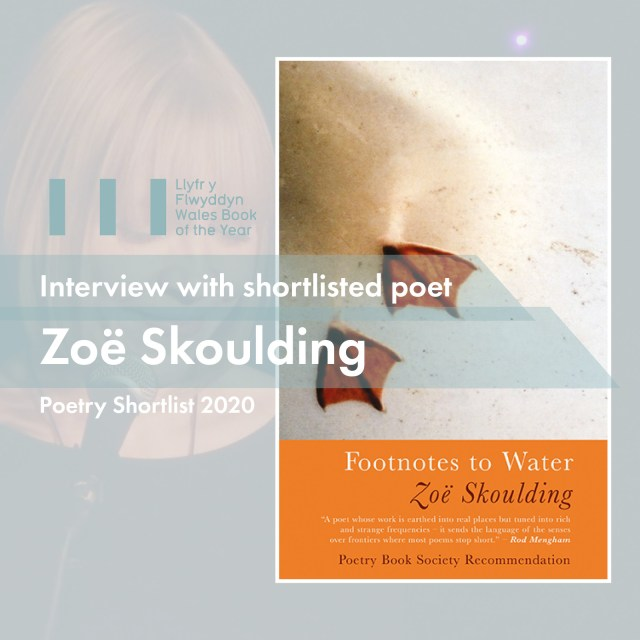 Wales Book of the Year 2020 WBOTY Zoe Skoulding Footnotes to Water Literature Wales