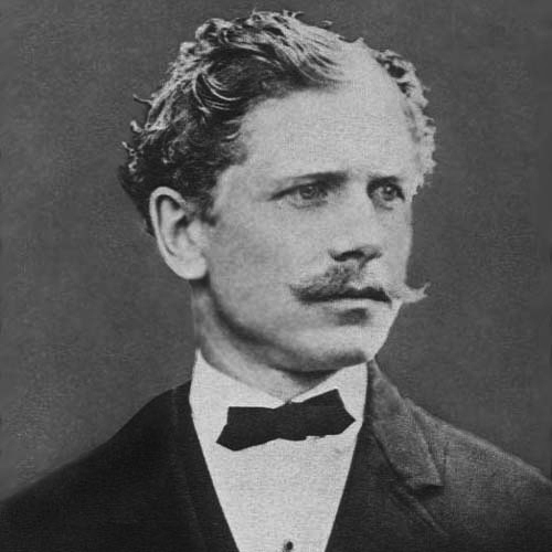 Satirist Ambrose Bierce, author of The Devil's Dictionary
