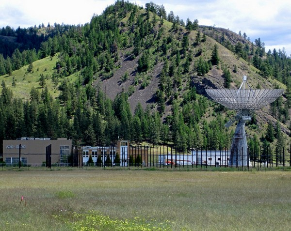 Canada's Dominion Radio Astrophysical Observatory (DRAO) near Penticton, BC