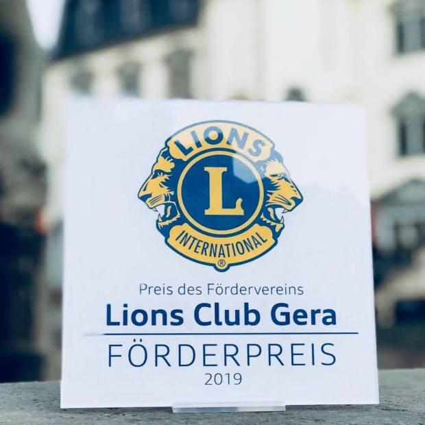 Logoerstellung und Marketingbetreuung für den Lions Förderpreis.