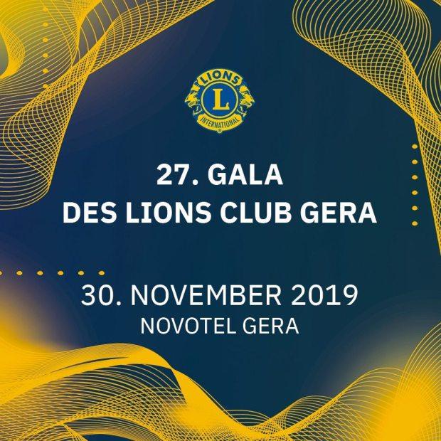 Erstellung von Facebook- und Instagrambeiträgen. Wie hier das Sharepic für die Lions Gala in Gera.