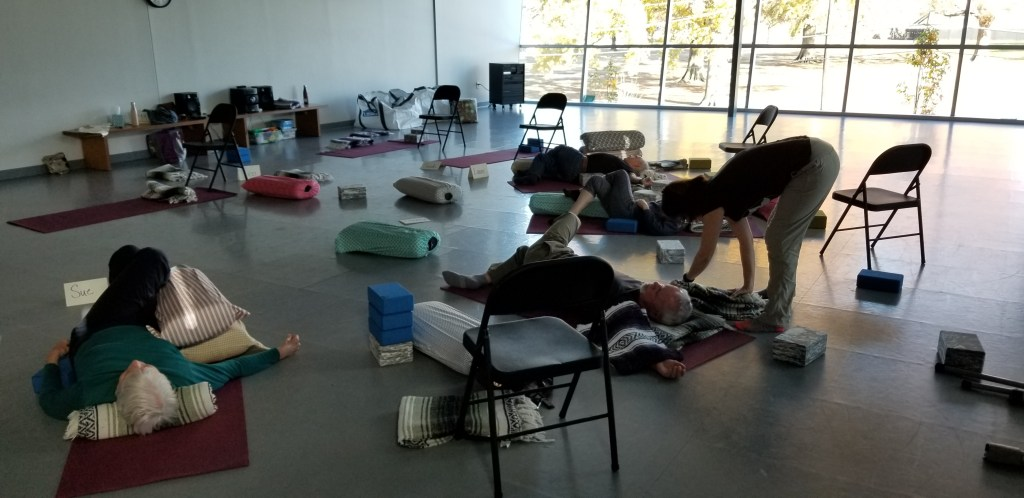 Parkinson's Movement Initiative ~ Yin Yoga for Flexibility and Letting Go!