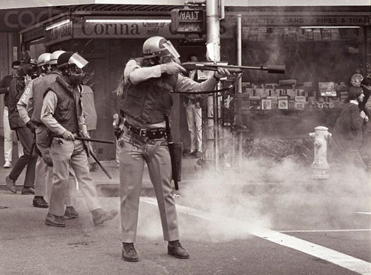 Berkeley Police Fire Tear Gas