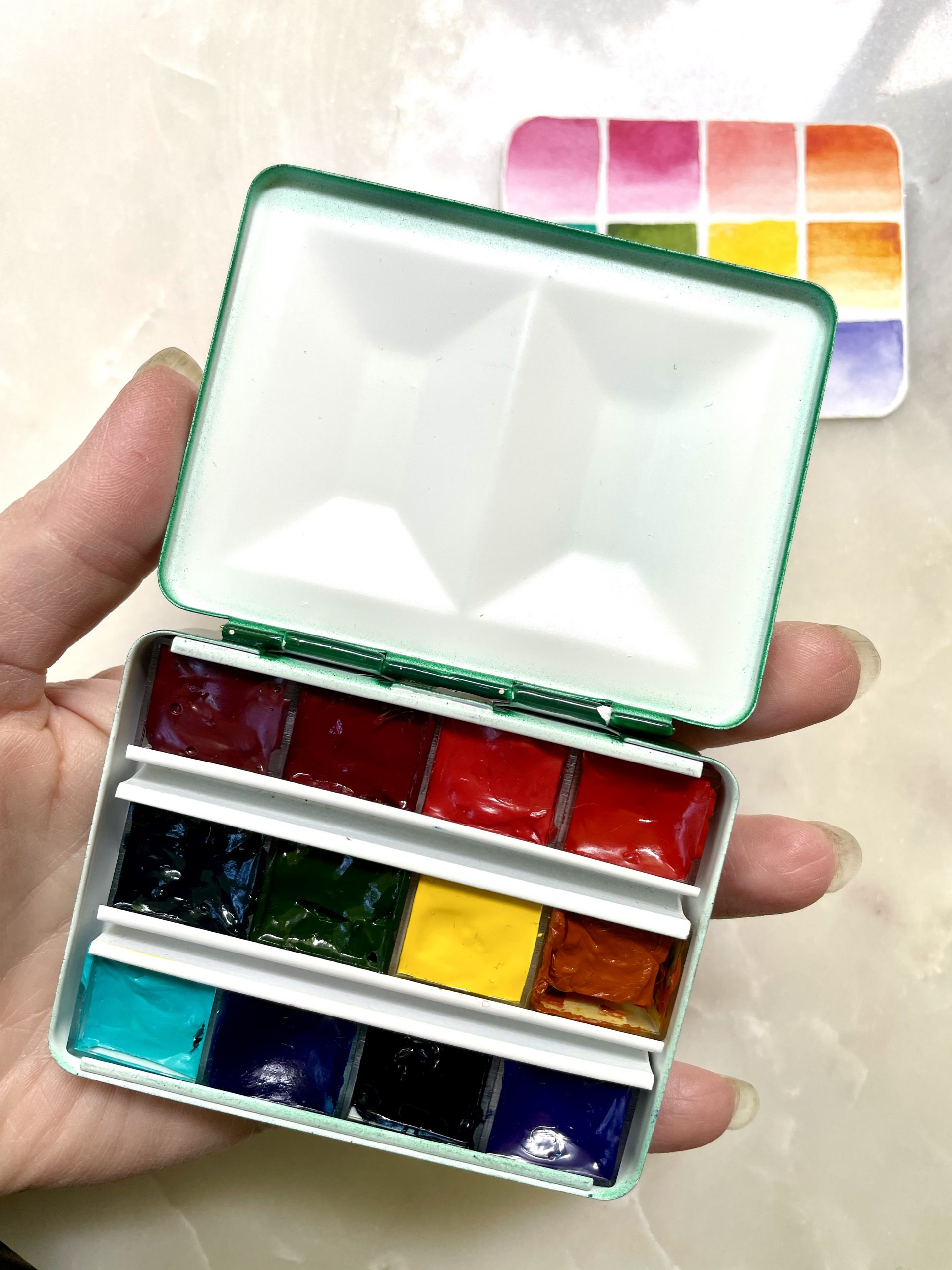 Travel palette
